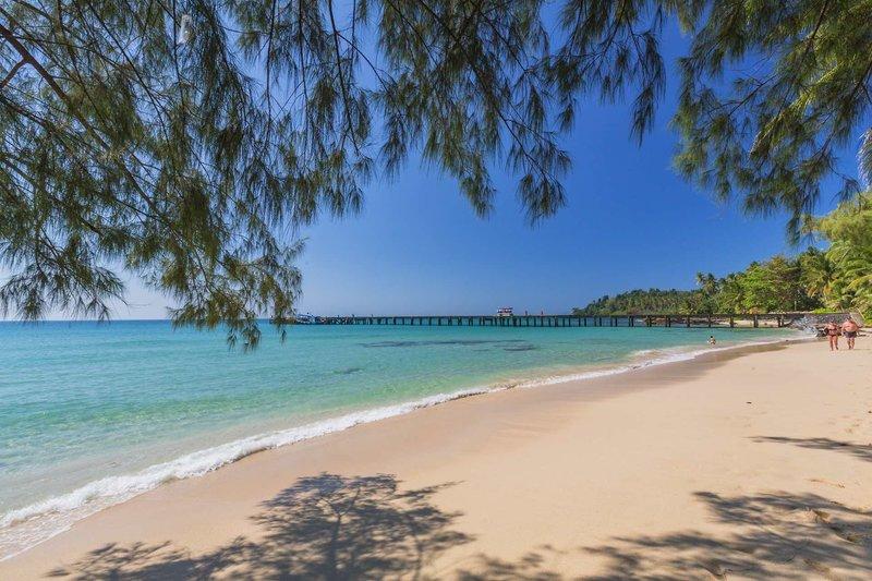 Koh Kood Paradise Beach in Trat City, Zentral-Thailand Strand