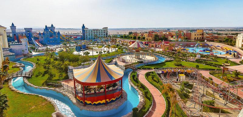Serenity Fun City Resort in Makadi Bay, Rotes Meer Außenaufnahme