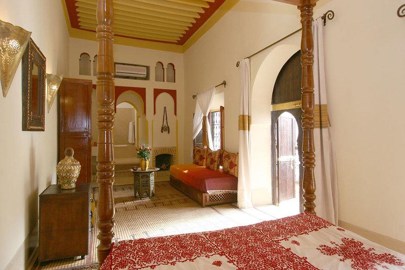 Riad Karmela in Marrakesch, Marrakesch Lounge/Empfang