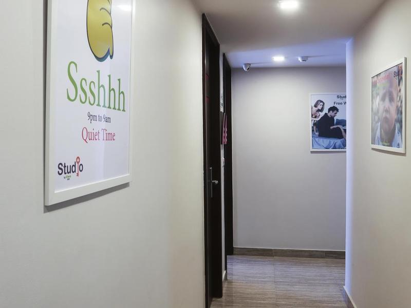 Studio Nana By iCheck Inn in Bangkok, Bangkok & Umgebung Badezimmer