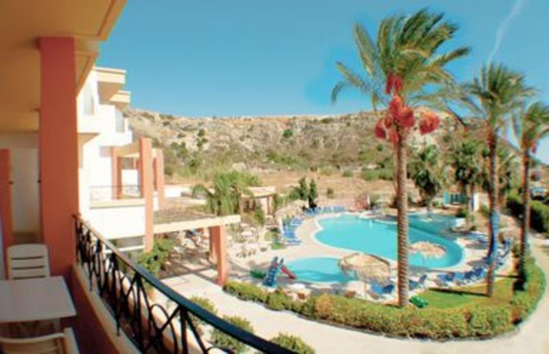 Olympia Sun in Faliraki, Rhodos Pool