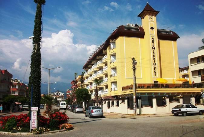 Artemis Princess Hotel in Alanya, Türkische Riviera Außenaufnahme