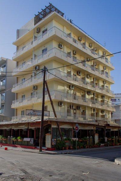 Vassilia Hotel in Rhodos-Stadt, Rhodos Außenaufnahme