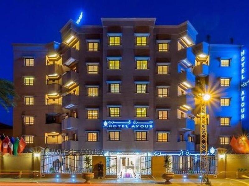 Hôtel Ayoub in Marrakesch, Marrakesch Außenaufnahme