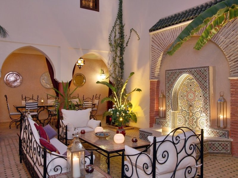Riad Petit Karmela in Marrakesch, Marrakesch Terasse
