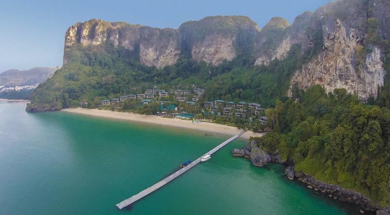 Centara Grand Beach Resort & Villas Krabi in Krabi, Süd-Thailand Außenaufnahme