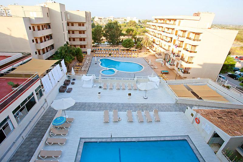 PlayaMar Hotel & Apartments in S'Illot, Mallorca Außenaufnahme