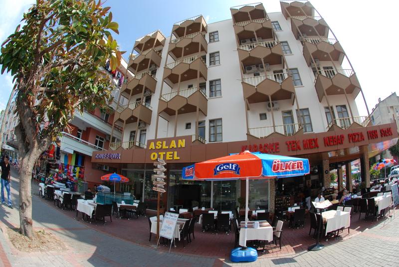 Aslan Corner Hotel in Alanya, Türkische Riviera Außenaufnahme