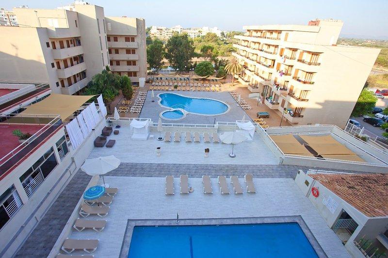 PlayaMar Hotel in S'Illot, Mallorca Außenaufnahme
