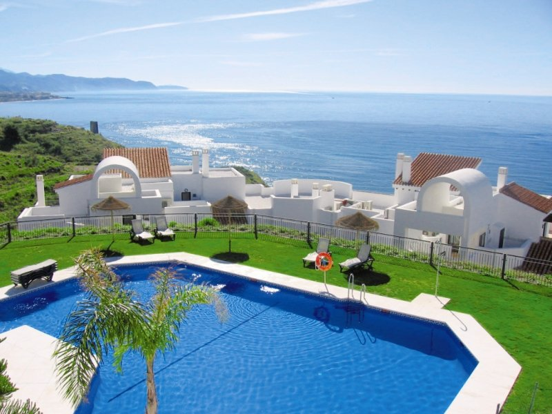 Olée Nerja Holiday Rentals in Torrox Costa, Costa del Sol Pool