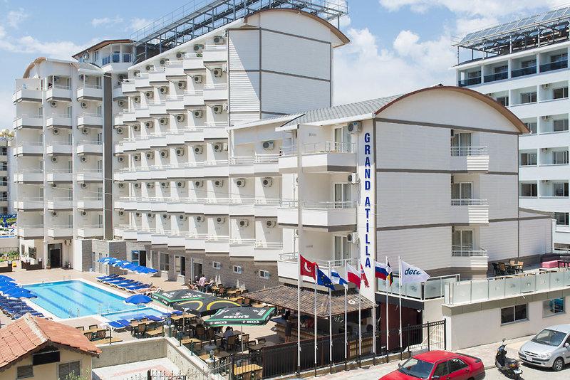 Grand Atilla Hotel in Alanya, Türkische Riviera Außenaufnahme