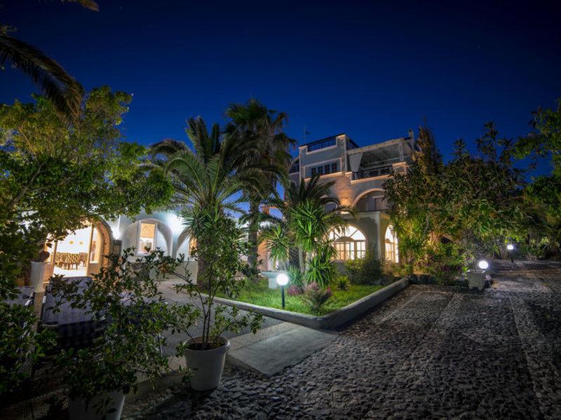 Villa Olympia in Perivolos, Santorin Außenaufnahme