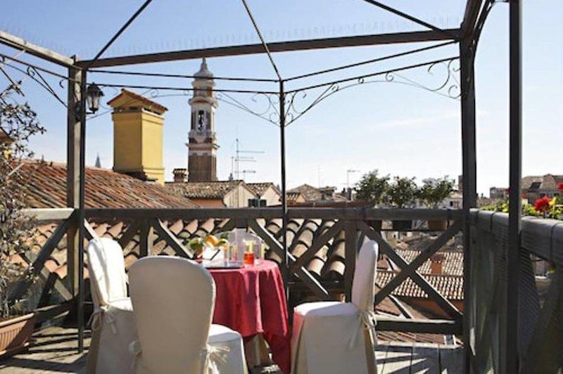 Hotel Ca' D'Oro Venezia in Venedig, Venedig & Umgebung Terasse