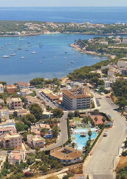JS Portocolom Suites in Portocolom, Mallorca Außenaufnahme