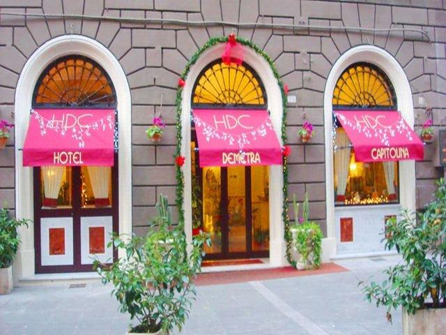 Hotel Demetra Capitolina in Rom, Rom & Umgebung Außenaufnahme