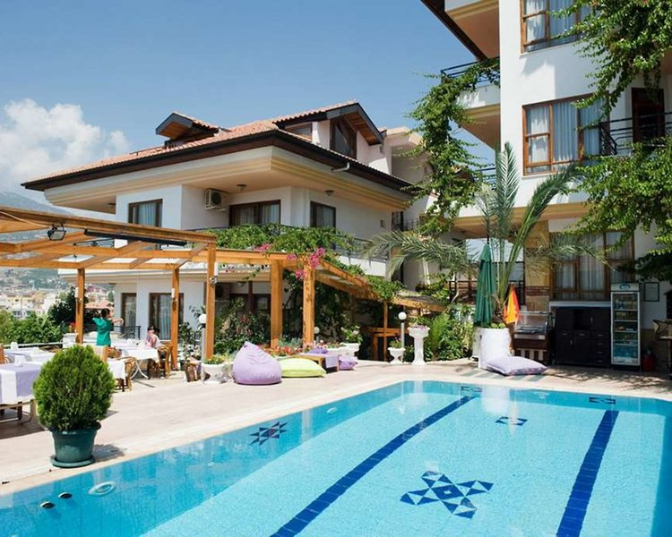 Villa Sonata Apart Hotel in Alanya, Türkische Riviera Außenaufnahme