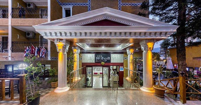 Wasa Hotel Alanya in Alanya, Türkische Riviera Außenaufnahme