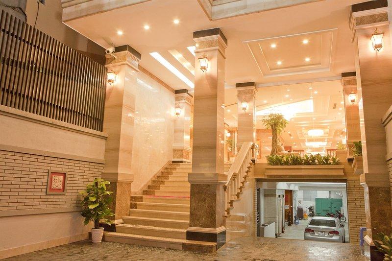 Hanoi Larosa Hotel in Hanoi, Vietnam Lounge/Empfang