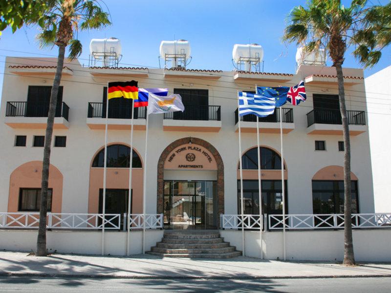 New York Plaza Hotel Apartments in Paphos, Zypern Süd (griechischer Teil) Außenaufnahme