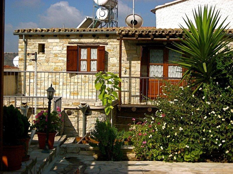 Traditional Village Houses in Skarinou, Zypern Süd (griechischer Teil) Außenaufnahme