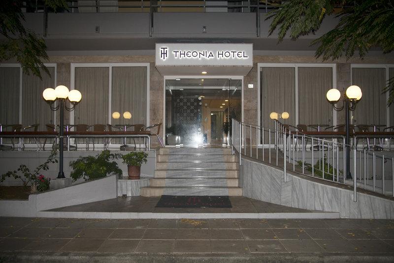 Hotel Theonia in Kos-Stadt, Kos Außenaufnahme