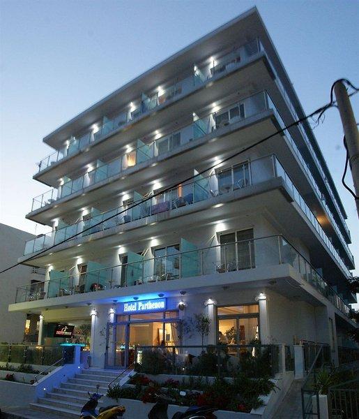 Hotel Parthenon City in Rhodos-Stadt, Rhodos Außenaufnahme