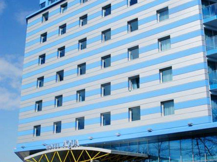 Aqua Hotel Burgas in Burgas, Riviera Süd (Sonnenstrand) Außenaufnahme