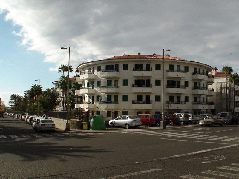 Apartamentos Las Faluas in Playa del Inglés, Gran Canaria Außenaufnahme