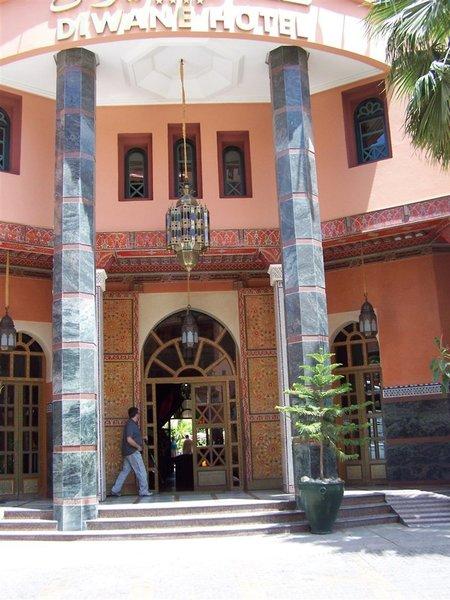 Diwane Hotel & Spa in Marrakesch, Marrakesch Außenaufnahme