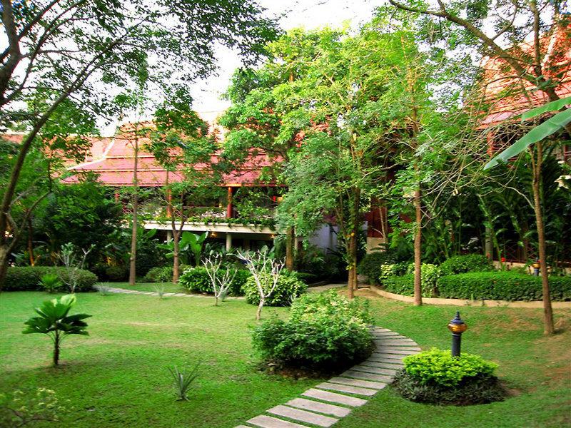 Cha-Da Krabi Thai Village Resort in Krabi, Süd-Thailand Außenaufnahme