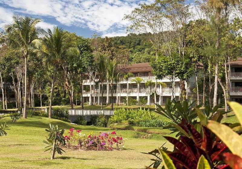 Dusit Thani Krabi Beach Resort in Krabi, Süd-Thailand Landschaft