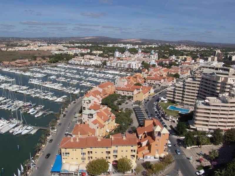 Marina Plaza in Vilamoura, Algarve Außenaufnahme