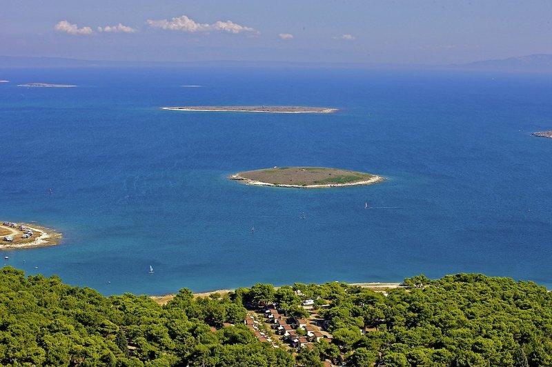 Arena Stupice in Premantura, Istrien Landschaft