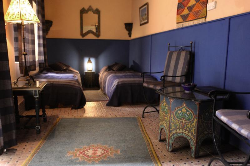 Sherazade in Marrakesch, Marrakesch Lounge/Empfang