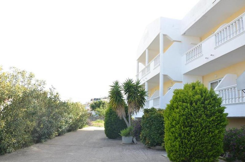 Iatridis Studios in Faliraki, Rhodos Garten