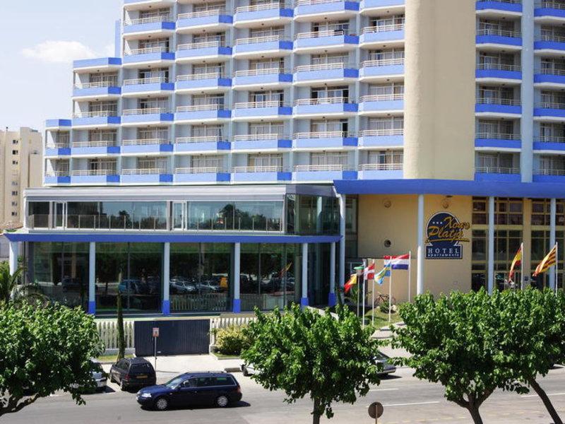 Aparthotel Xon's Platja in Empuriabrava, Costa Brava Außenaufnahme