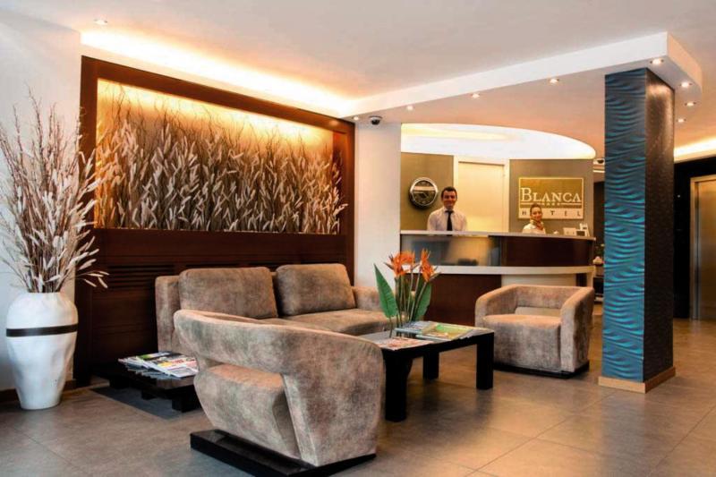 Blanca Hotel in Izmir, Türkische Ägäis Lounge/Empfang