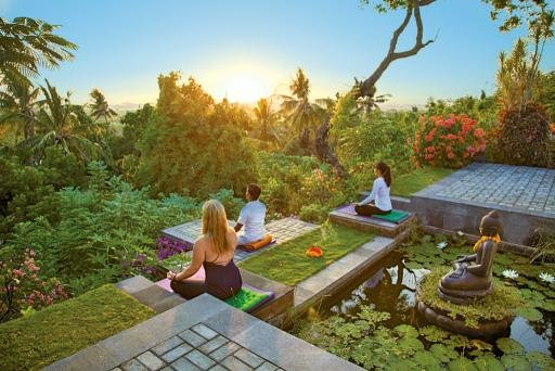 Zen Resort in Seririt, Indonesien - Bali Terasse