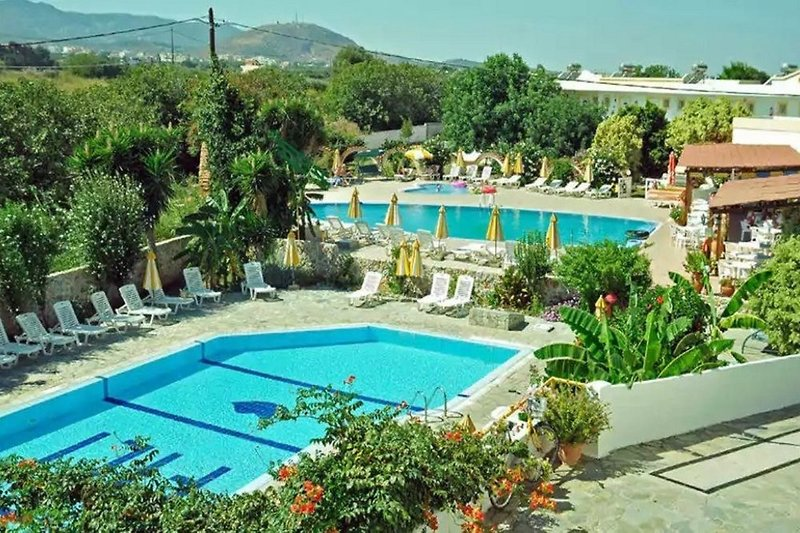Fili Apartments in Tigaki, Kos Pool